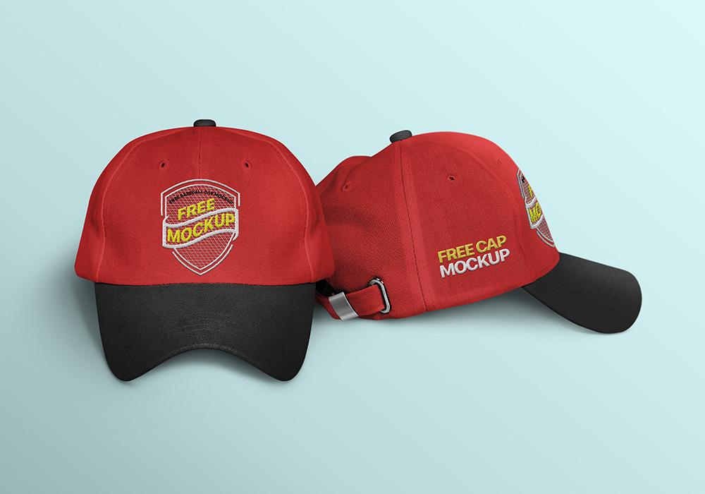 white cap mockup free