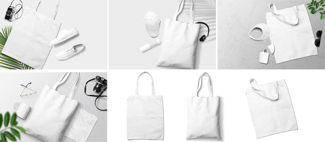 Tote Bag Bundle Mockup