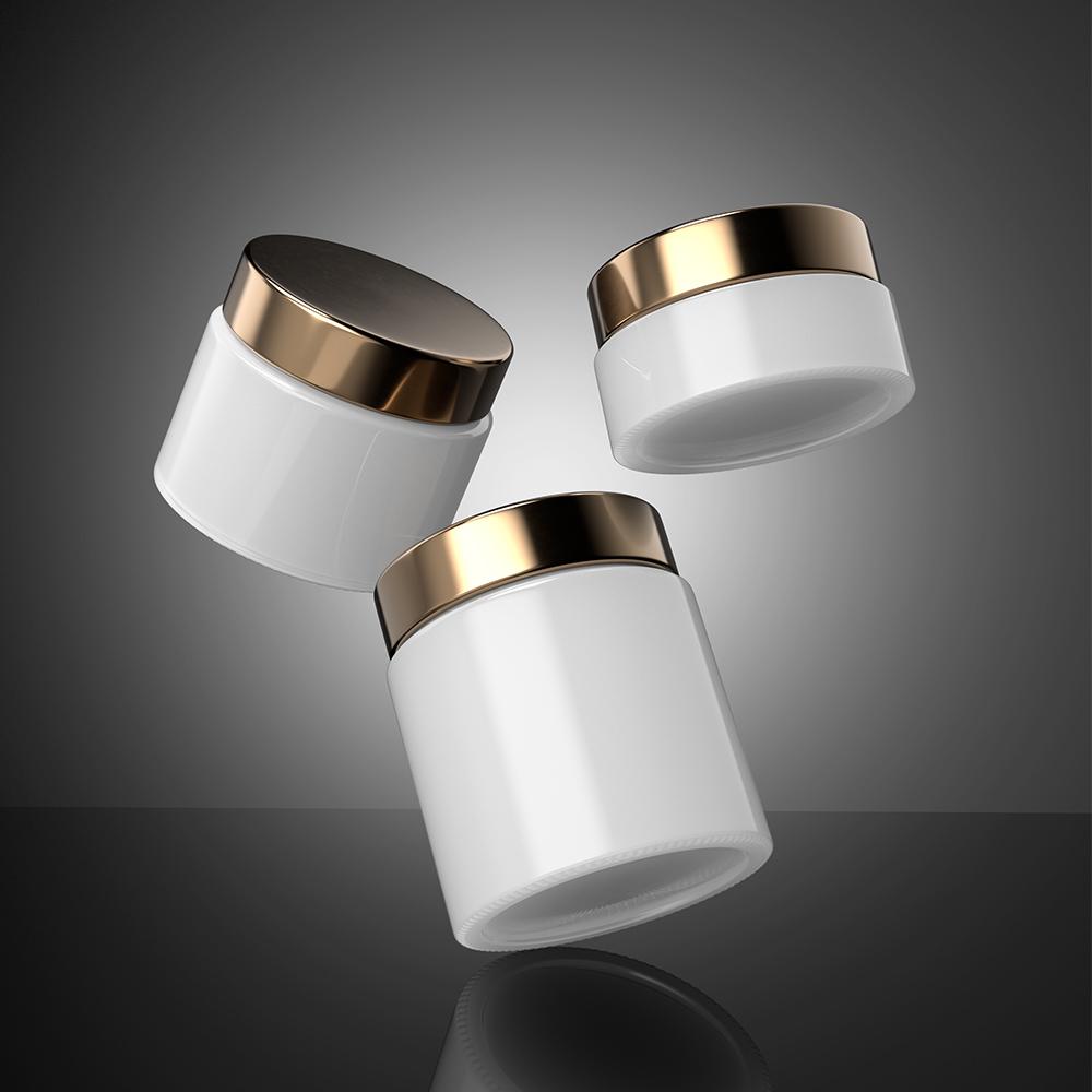 Free Cosmetic Cream Jars Mockup