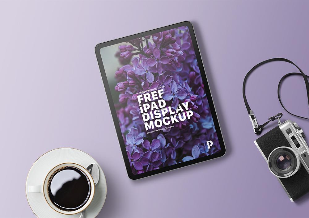 Free iPad Display Mockup