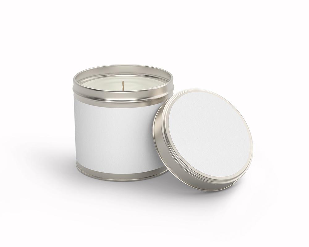 Free Candle Tin Jar Mockup