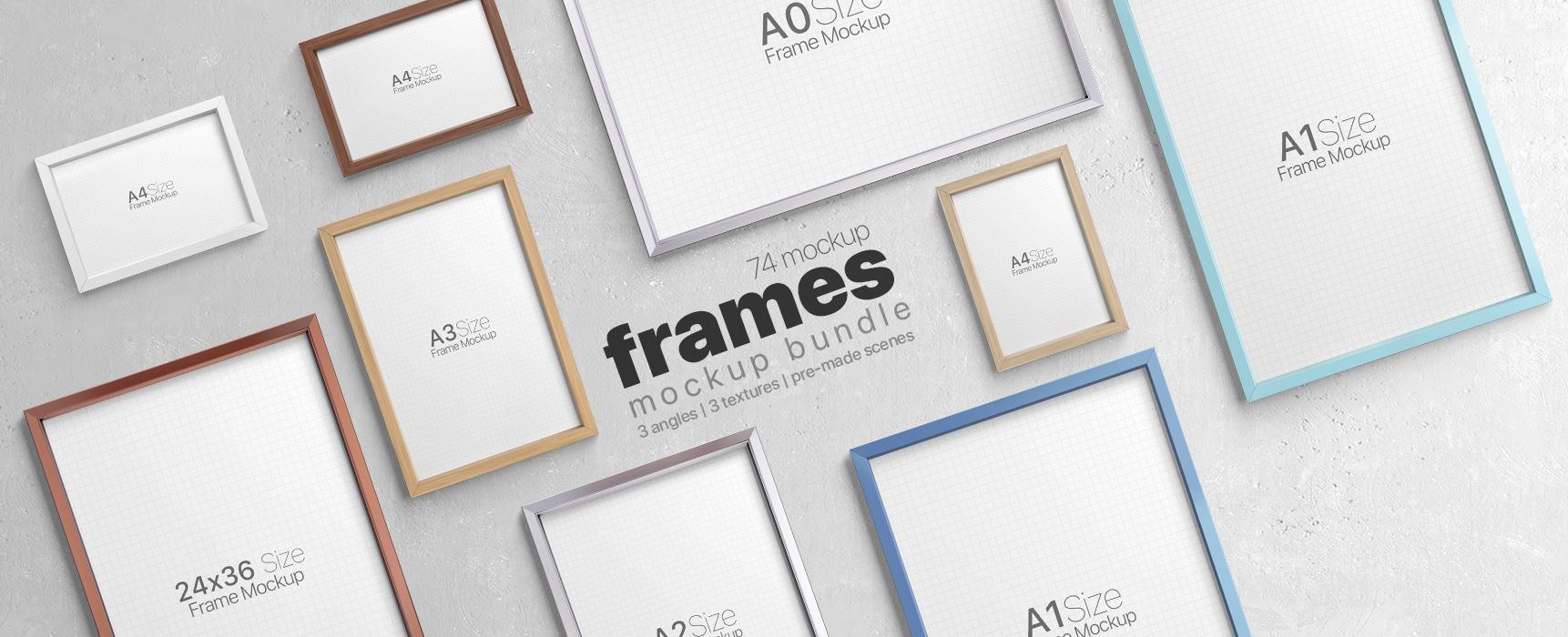 Picture Frame Mockups Bundle