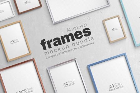 Photo Frame Mockups Bundle