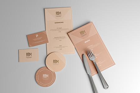 Free Restaurant Branding Scene Mockup